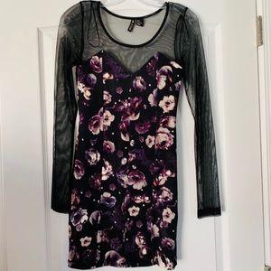 H&M Dress Long Sleeve Mesh 4